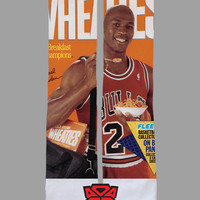 Michael Jordan - Wheeties Box - Custom Socks - Socktimus Prime - Chicago Bulls - NBA