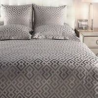 Somero Bedding - Steel | Nicolette Concerto Bedroom Inspiration | Bedroom | Inspiration | Z Gallerie