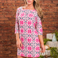 Brunch With Brandi Dress, Pink