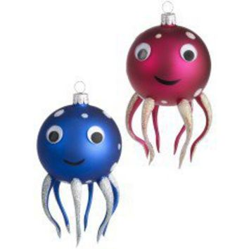 Product Details - Glass Octopus Ornaments