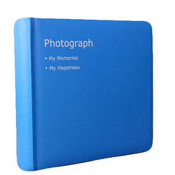 Creative Inset Photo Memory Book/Album of Baby's First 5 Years(Blue)