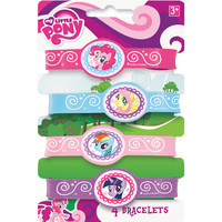 My Little Pony Rubber Bracelets [4 Sheets Per Pack]