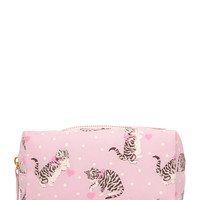 Cats & Dots Cosmetic Bag
