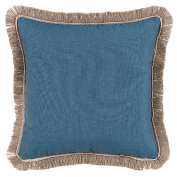 Lagoon Pillow with Sand Flange