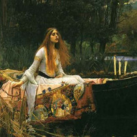 John William Waterhouse Lady of Shalott Poster 11x17