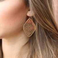 The Sunburst Earrings