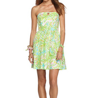 Richelle Strapless Tie Back Dress - Lilly Pulitzer