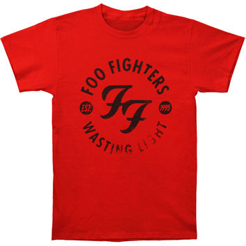 Foo Fighters Men's  Wasting Light T-shirt Red Rockabilia