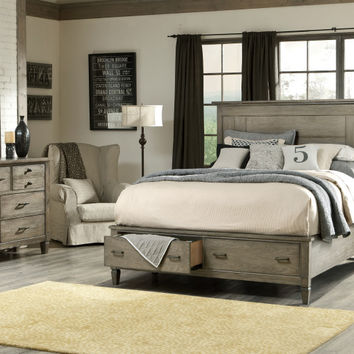 Legacy Classic Furniture Brownstone Village Storage Panel Bedroom Collection
