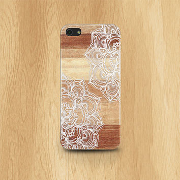 WEDDING iPhone 5s case lace iPhone 5 case iPhone 5s case designer iphone case wood iPhone 5s case white iphone 5 case boho