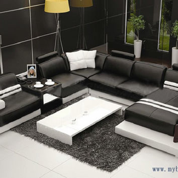 Multiple Combination Elegant Modern sofa, Large size Luxury fashion style, best living room couch sofa set hot sale S8709