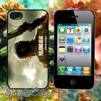 Daryl Dixon,Accsessories,Case,Cell Phone,iPhone 4/4S,iPhone 5/5S/5C,Samsung Galaxy S3,Samsung Galaxy S4,Rubber/412Q12