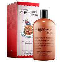 philosophy Spiced Gingerbread Cookie Shampoo, Shower Gel & Bubble Bath (16 oz)