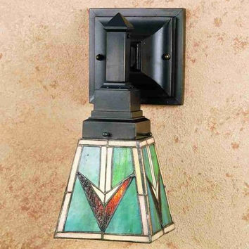 "0-032425>5""w 1-Light Valencia Mission Wall Sconce"