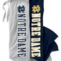 CHAMPION PRODUCTS : Notre Dame Women's Sweatpants : Hammes Notre Dame Bookstore : www.nd.bkstr.com