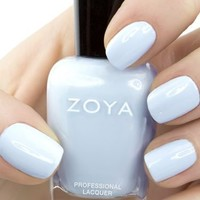 Zoya Nail polish LOVELY SPRING collection Blu ZP 653 2013 release