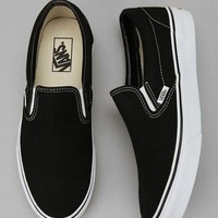VANS Unisex Classic Slip On - Black