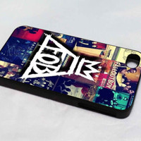 fall out boy band design for iPhone 4/4S/5/5S/5C/6/6+