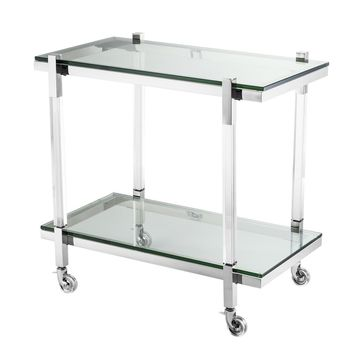 Rectangular Glass Trolley | Eichholtz Royalton
