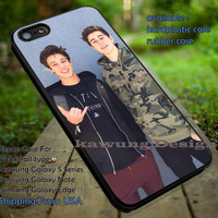 Nash Grier and Cameron Dallas Cute iPhone 6s 6 6s+ 5c 5s Cases Samsung Galaxy s5 s6 Edge+ NOTE 5 4 3 #movie #MagconBoys dt