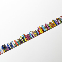 washi tape book Yano design debut series Bookshell washi tape 20mm x 5M