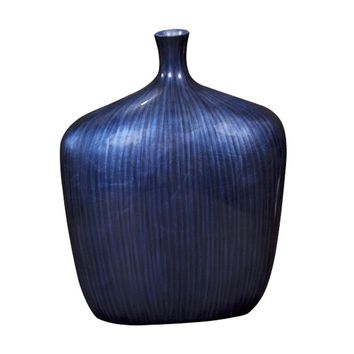 Sleek Cobalt Blue Vase - Large