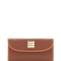 Dooney & Bourke Pebble Continental Clutch Wallet