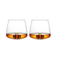 To the Last Drop Whiskey Glasses - Set of 2