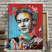 Picture Prints figure on canvas home decor Canvas paintings Wall Art Wall poster decoration for living room no frame