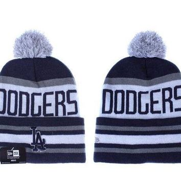 Los Angeles Dodgers Beanies New Era Mlb Baseball Hat