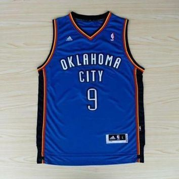 UCANUJ3V Serge Ibaka #9 NBA Oklahoma City Thunder Jersey Youth Small Adidas