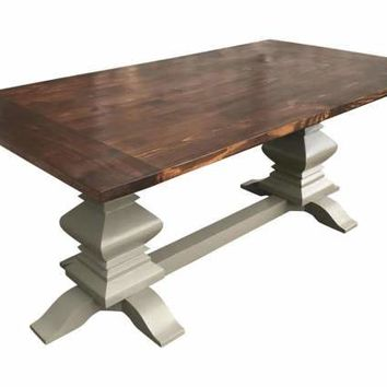 Rectangle Fancy Farm Table