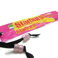 Starburst Recycled Candy Wrapper Bookmark - FaveREDS Flavor