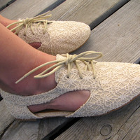 The Lacey Oxford {Ivory}