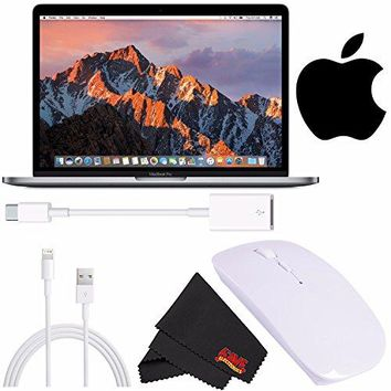 "Apple 13"" MacBook Pro, Retina, Touch Bar, 3.1GHz Intel Core i5 Dual Core MPXV2LL/A + Ultra-Slim Wireless Mouse Bundle"