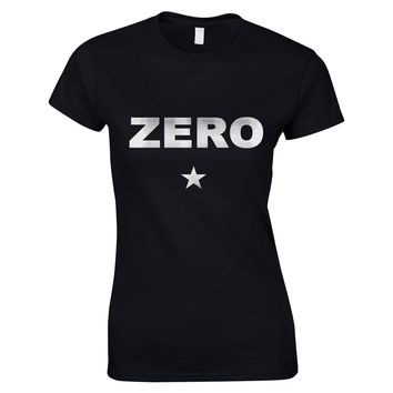 Alternative Pop Rock Music Band Women T Shirt Zero Star Logo Printed Cotton T-shirt for Girl