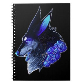 Notebook Mistic Wolf