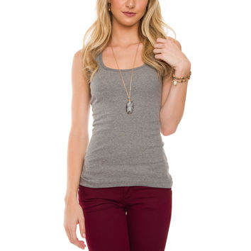 Lilith Top - Grey