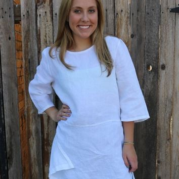 Bre Tunic - White by Bryn Walker