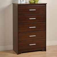 Prepac Coal Harbor 5-Drawer Chest