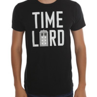 Doctor Who Time Lord TARDIS T-Shirt
