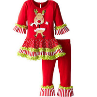 Girl Christmas suit children Christmas fashion suitable for leisure boy child Christmas comfortable the children's suits clothes