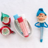 lip balm gift set / any three flavors / all natural