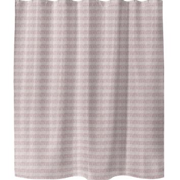 FLAPPER PINK Shower Curtain By Tiffany Wong
