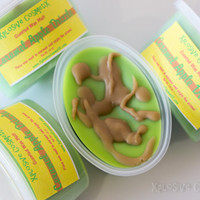 Caramel Apple Drizzle Scented Wax Melt Tart - Fully Scented - Soy Home Fragrance - Scent Shot 2 oz.