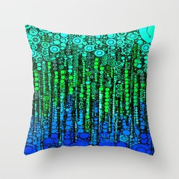 :: Party By The Sea :: Throw Pillow by :: GaleStorm Artworks ::
