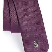 Boy's John Varvatos Star USA 'Peace' Silk Tie