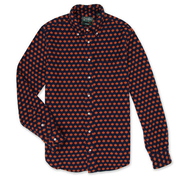 Portuguese Flannel Dot Orange