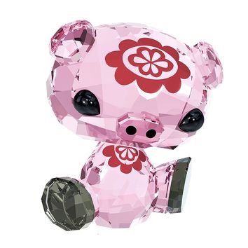 Swarovski Color Crystal Figurine ZODIAC BU BU THE PIG #5004488