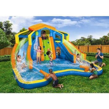 Water Slide Pool Park KIDS Backyard Bouncer inflatable Toys Outdoor FUN Summer
